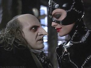 Penguin and Catwoman Batman Returns movie