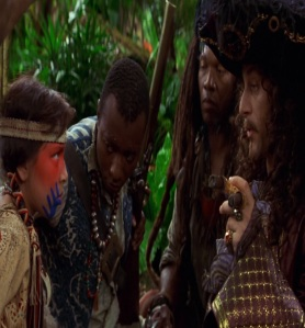 Tiger Lily vs captain hook Peter Pan 2003 movie