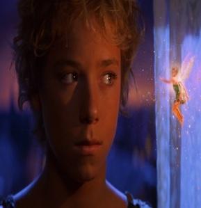 Peter Pan and Tinkerbell Peter Pan 2003 movie