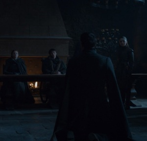 Sansa Stark condemns little finger to death game of Thrones HBO