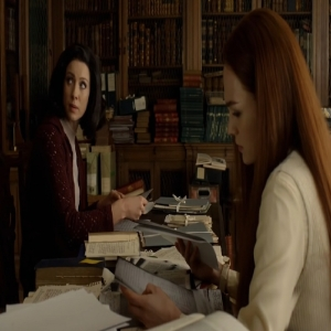 Claire and Brianna try to figure out where Jamie is in the past outlander