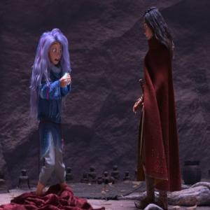 Sisu turns human Raya and the Last Dragon disney