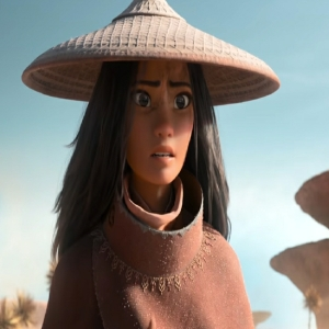 Raya out of hope in spine Raya and the Last Dragon disney