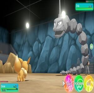 Brock using onix Pokemon Let's Go Pikachu/Eevee Nintendo Switch