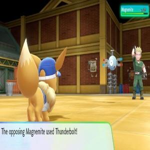 Lt. Surge using magnemite Pokemon Let's Go Pikachu/Eevee Nintendo Switch