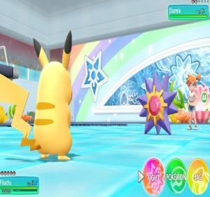 Misty using starmie Pokemon Let's Go Pikachu/Eevee Nintendo Switch