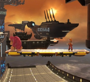 Port Town Aero Dive Stage super Smash Bros ultimate Nintendo Switch