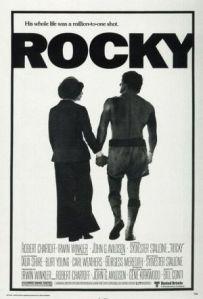 Rocky I movie poster