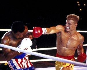 Apollo Creed killed by Ivan Drago Rocky IV