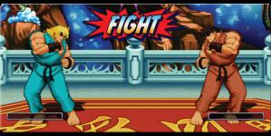 Ryu vs Ken Super Street Fighter II HD Turbo Remix
