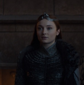 Queen of the north Sansa Stark game of Thrones HBO