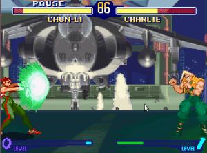 Chun-Li Street Figher Alpha 2 SNES