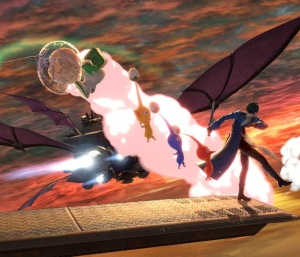 Joker vs Alph Halberd Stage Super Smash Bros ultimate Nintendo Switch