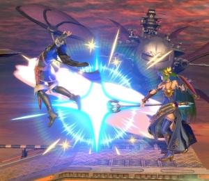 Palutena vs Lucina Halberd Stage Super Smash Bros ultimate Nintendo Switch