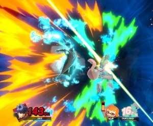 Ike final Smash super Smash Bros ultimate Nintendo Switch fire Emblem
