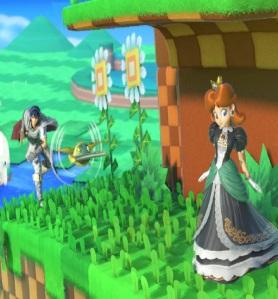 Marth throwing Beetle super Smash Bros ultimate Nintendo Switch