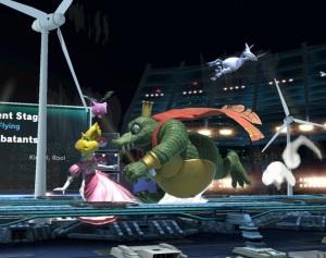 Princess Peach vs king k rool Pokemon Stadium 2 stage super Smash Bros ultimate Nintendo Switch