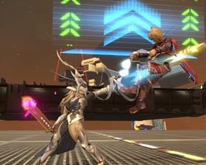 Corrin vs shulk Port Town Aero Dive Stage super Smash Bros ultimate Nintendo Switch