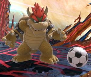 Soccer ball super Smash Bros ultimate Nintendo Switch