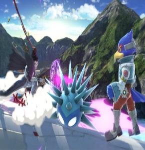 Full spiked Unira super Smash Bros ultimate Nintendo Switch