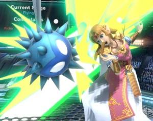 Princess Zelda hit by Unira super Smash Bros ultimate Nintendo Switch