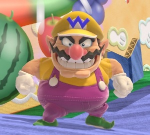 Wario Super Smash Bros ultimate Nintendo Switch