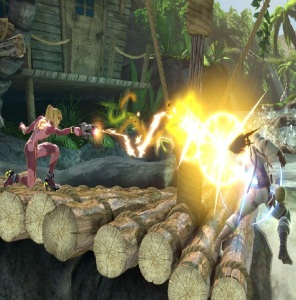 Zero suit Samus vs solid snake super Smash Bros ultimate Nintendo Switch Metroid
