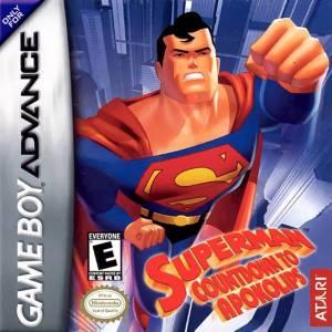 Superman: Countdown To Apokolips GBA boxart