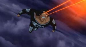 Black suit superman Superman: Doomsday 2007 movie