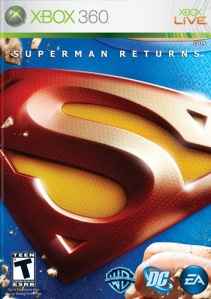Superman Returns Xbox 360 boxart