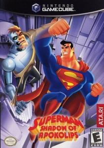 Superman: Shadow of Apokolips Gamecube boxart