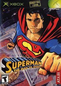 Superman: The Man of Steel Xbox boxart