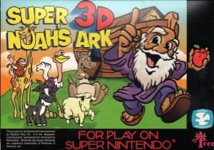 Super Noah's Ark 3D SNES SUPER NINTENDO boxboxart