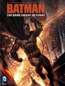 Batman: The Dark Knight Returns Part 2 dvd cover