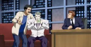 Joker on talk show Batman: The Dark Knight Returns Part 2