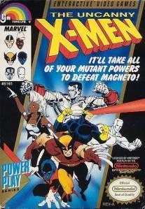 The Uncanny X-Men NES Boxart
