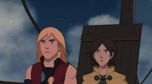 Young Thor and Loki Thor: Tales of Asgard
