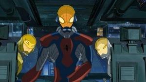 Spacesuits Ultimate Spider-Man tv series