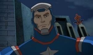 Norman Osborn iron patriot Ultimate Spider-Man tv series