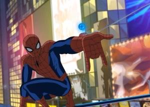 Spider-man shooting webs Ultimate Spider-Man tv series