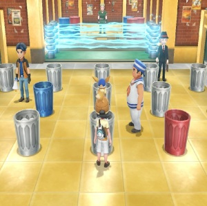 Vermilion city gym Lt. Surge Pokemon Let's Go Pikachu/Eevee Nintendo Switch
