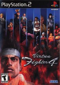 Virtua Fighter 4 ps2 boxart