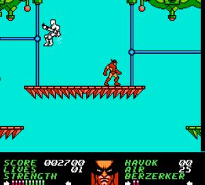 Wolverine NES marvel X-Men