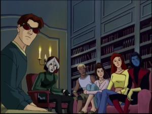 Goth rogue X-Men: Evolution