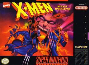X-Men: Mutant Apocalypse snes boxart