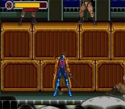 Gambit X-Men: Mutant Apocalypse snes