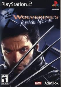 X2: Wolverine's Revenge Sony PS2 boxart