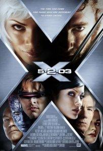 X2: X-Men United movie poster