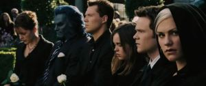 Charles Xavier funeral X-Men: The Last Stand