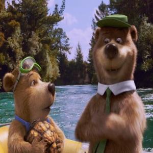 Yogi and boo-boo Yogi Bear 2010 movie